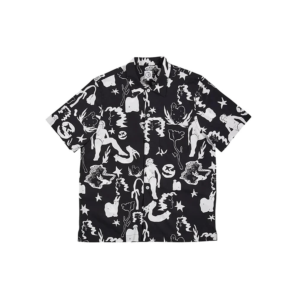 [POLAR SKATE] East Dream Shirt - Black/White