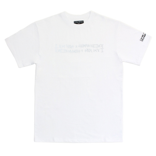 [17SS] Retro Reflective Basic Logo T-Shirts - White