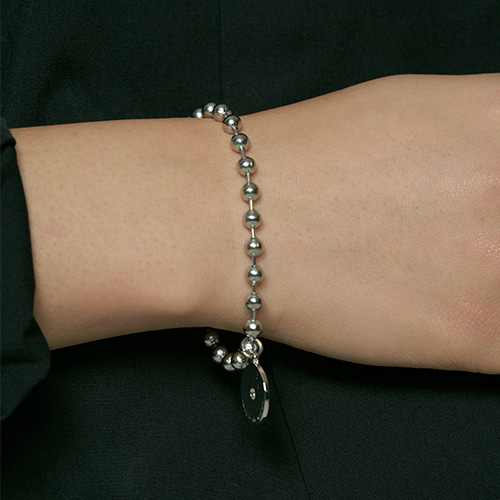 [HAWHA] Midnight ball chain bracelet