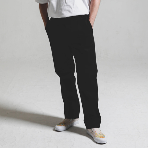 [STAGE NAME]Double stitch STG PANTS_BLACK