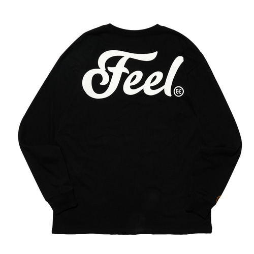 [필이너프] LOGO LONG SLEEVE / BLACK