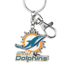 Miami Dolphins Heavyweight Key Chain