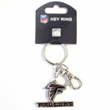 Falcons Logo Heavyweight Key Chain