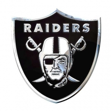 Raiders Team Emblem Automotive