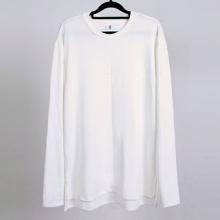 Long Side Tee - White