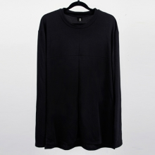 Long Side Tee - Black