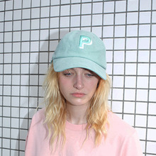 [Peppers]P Logo Ballcap - Mint