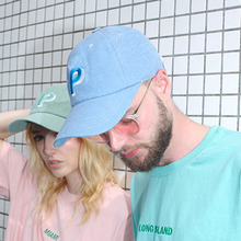 [Peppers]P Logo Ballcap - Blue