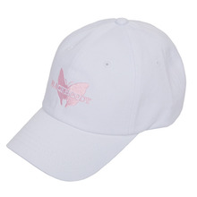 [Black Hoody]Butterfly Soft Cap - White