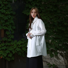 [YORKMINSTER] Auspicious Long Shirt-004 - White