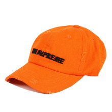[PESOSX](60%세일) Not Supreme Distressed Hat - Orange