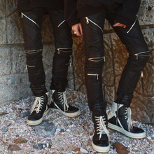 [YORKMINSTER] Deathless-002 Zipper Coating Pants - Black