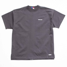 [OURHISTORY]Tape Logo T-shirt_Charcoal