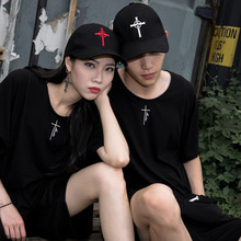 [YORKMINSTER] Cross Ball Cap - Black