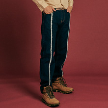 [INTAR] Fringe Denim Pants