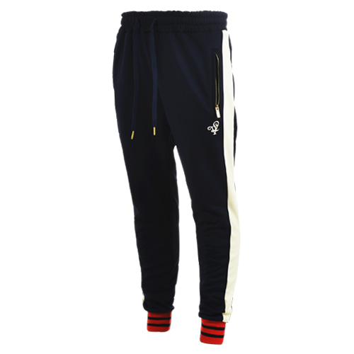 [LOLO ATLANTA] NAVY TRACK PANTS (Navy/Cream)
