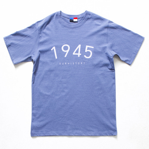 [OURHISTORY]Day Of 1/2 T-shirt_Blue