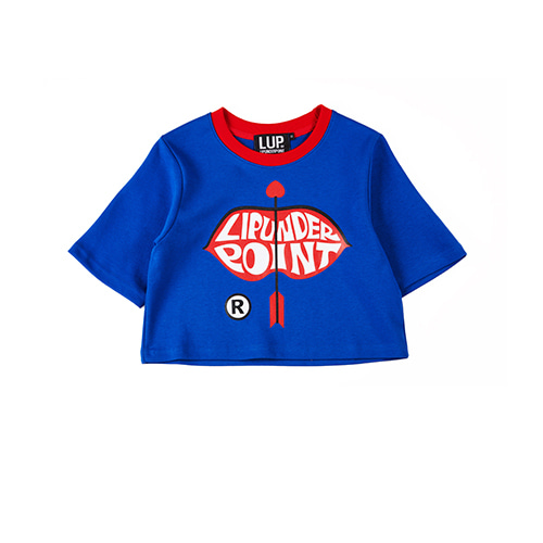 [LIPUNDERPOINT]  LIP LOGO ARROW CROP_BLUE