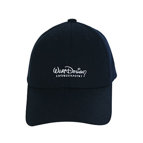 [4월10일예약발송][LIPUNDERPOINT] PARODY WHAT DESIGN BALLCAP_BLACK