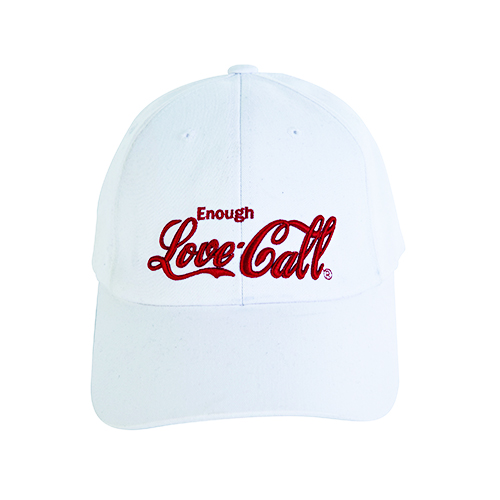 [4월10일예약발송][LIPUNDERPOINT] PARODY BIG LOVE CALL BALLCAP_WHITE