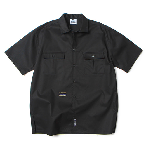 [앱놀머씽] Work Shirts (Black)