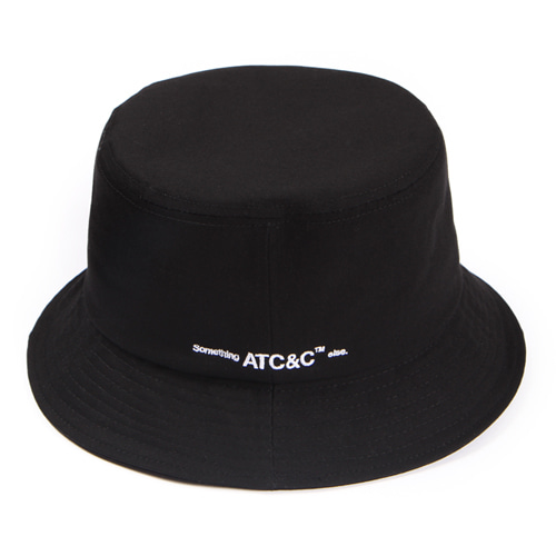 [앱놀머씽] ATC Bucket Hat (Black)