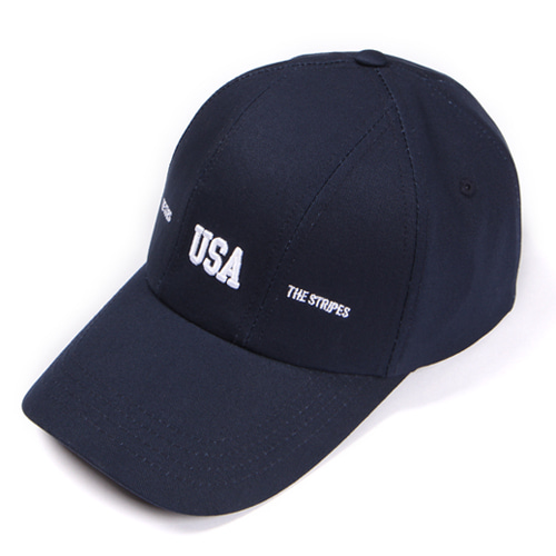 [앱놀머씽] USA 5Panel Cap (Navy)