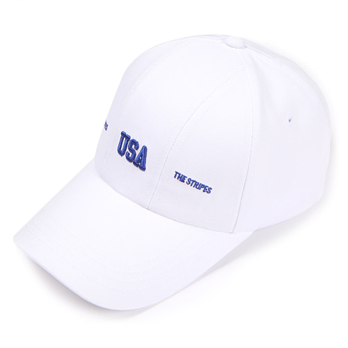 [앱놀머씽] USA 5Panel Cap (White)