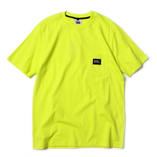 [앱놀머씽] Pocket T-Shirt (Neon)