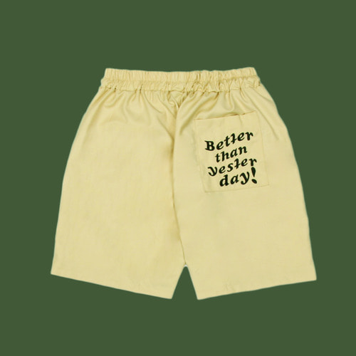 [DUCKDIVE] BTSD SHORT PANTS_BEIGE