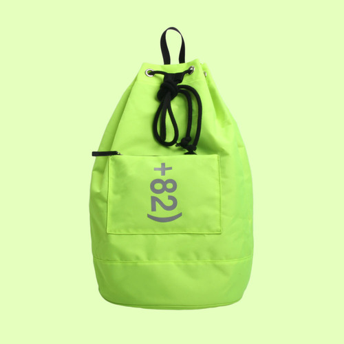 [DUCKDIVE] +82 C.H&M.G BAG_NEON YELLOW