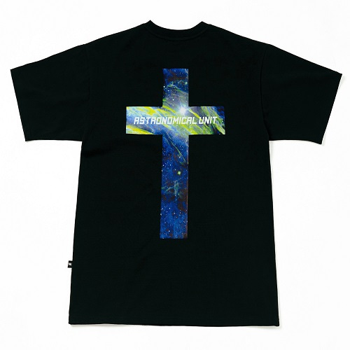 [10%할인][0.387AU] Planet-Cross Black T-shirt
