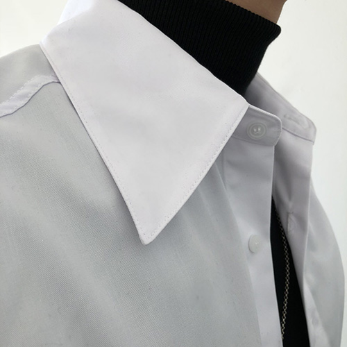 [4BLESS][11차 재입고] 빅카라 Shirts White