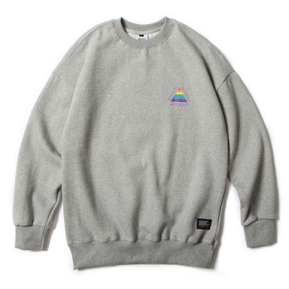 [앱놀머씽] 18 Triangle Crewneck (Gray)