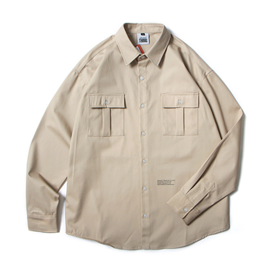 [앱놀머씽] 18 ATCNC Work Shirts (Beige)
