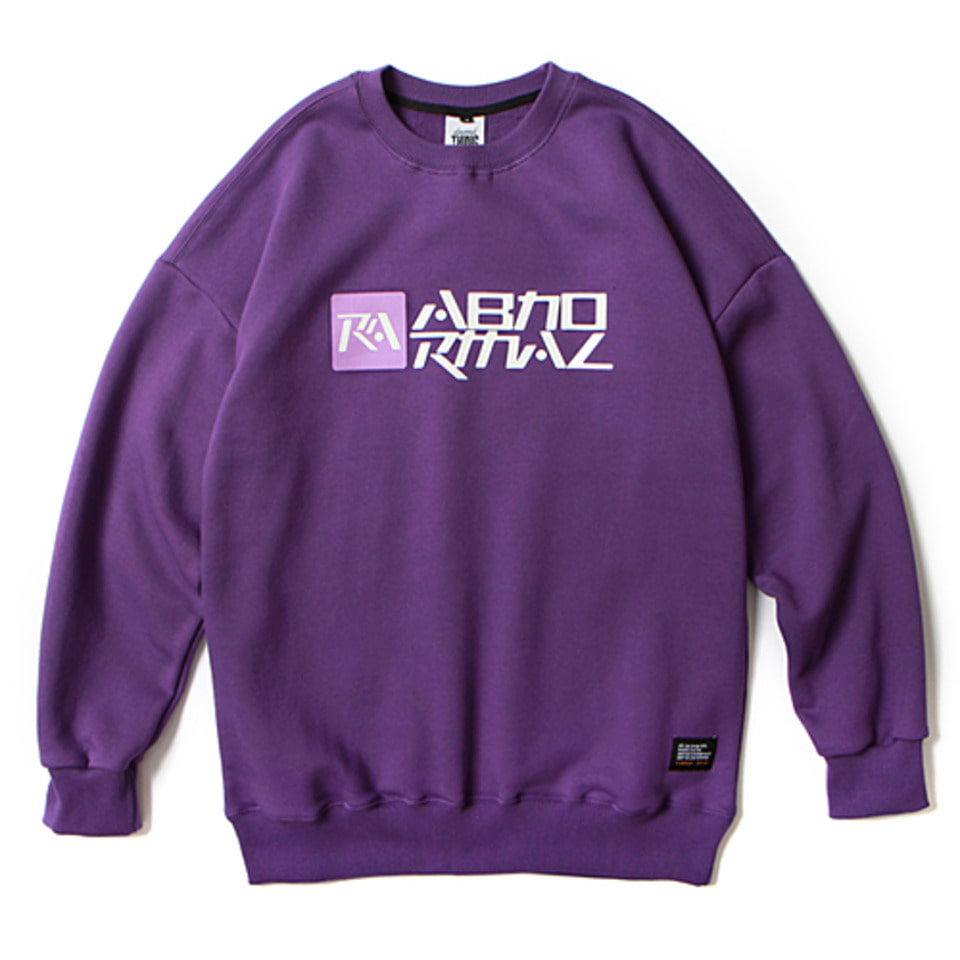 [앱놀머씽] 18 Symbolic Crewneck (Purple)
