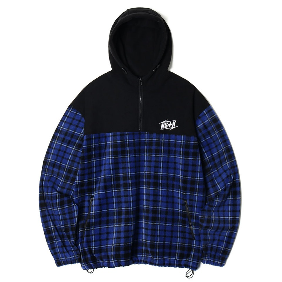 [NSTK] ECHO FLEECE ANORAK BLUE (NK18A011H)