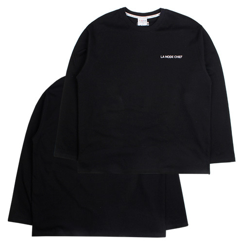 [LAMODECHIEF] LAMC LUMINOUS LONG SLEEVE (BLACK)