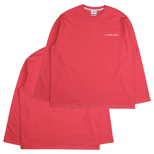 [LAMODECHIEF] LAMC LUMINOUS LONG SLEEVE (LIVING CORAL)