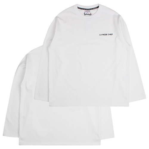 [LAMODECHIEF] LAMC LUMINOUS LONG SLEEVE (WHITE)