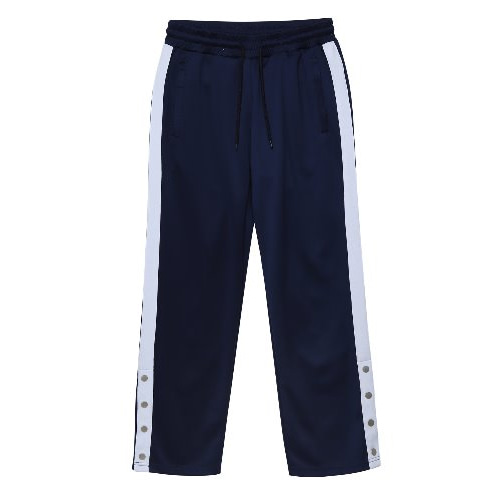 [언아웃핏] UNISEX SIDE BANDING TRACK PANTS NAVY