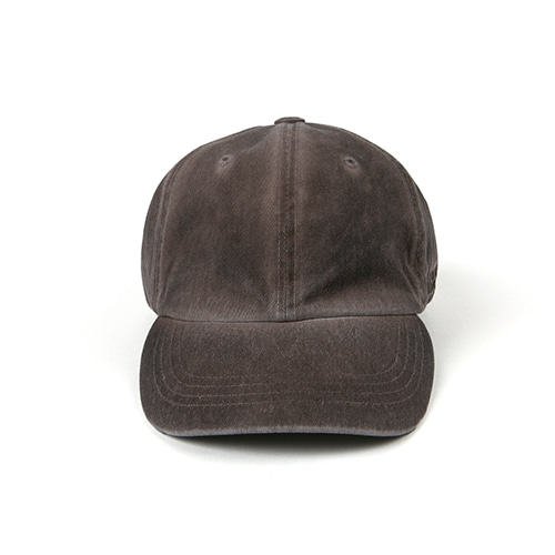 Washed Hat (HAND MADE) - BROWN