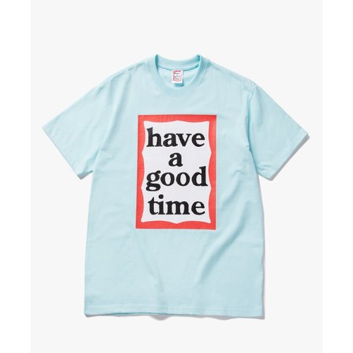 [해브어굿타임] Big Frame S/S Tee - SKY BLUE