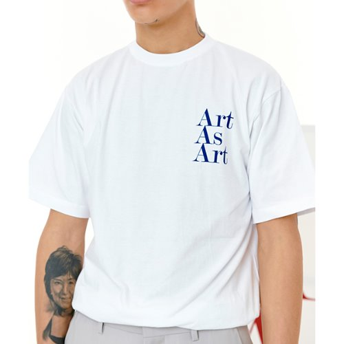ART AS ART T-SHIRTS - WHITE