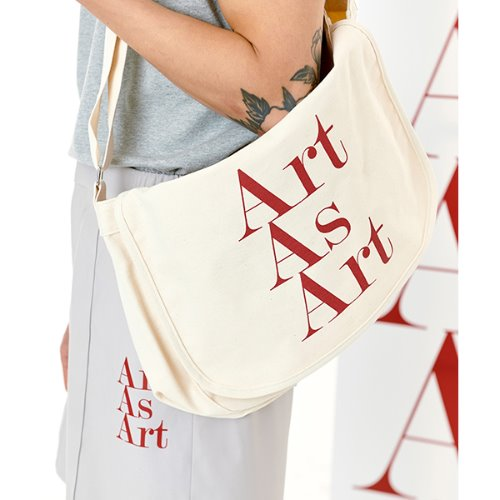 ART AS ART POST BAG