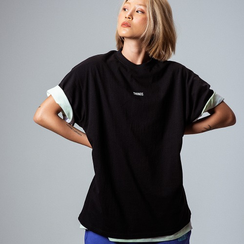 [OBJECT] THINGS T-SHIRT - BLACK