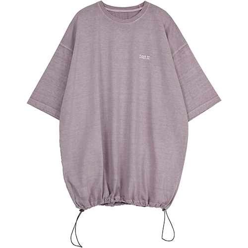 [FLARE UP] reversible pigment string T-shirt (FU-141_violet)