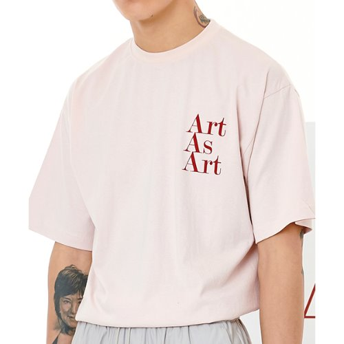 ART AS ART T-SHIRTS - BEIGE