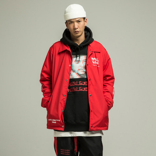 [SPECIALGUEST] WIZ Warm Coach Jacket RD