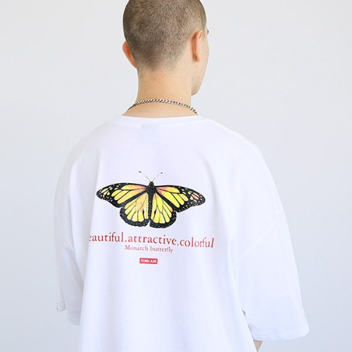 [TENBLADE] Butterfly T-shirt-tai159ss-white